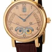 "71 / CHF 8500.– Armbanduhr\n""M. Braun EOS"" Um 2010."