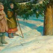 Nikolaj Petrovic Bogdanov-Bel'skij (1868 Sitiki  - 1945 Berlin) Ausruf: 8.000 € Ergebnis: 9.600 €
