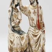 Herausragende museale Elfenbeinskulptur, wohl Frankreich, um 1480-1670 Aufrufpreis: 60.000,00 €