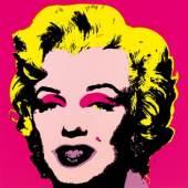 Kat. 0261 Andy Warhol * Marilyn (Portfolio: 10 Blätter) Schätzpreis € 3.000 - 5.000