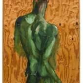Kat. 0061 Rainer Fetting * Rückenakt Desmond Green, 1989 Schätzpreis € 30.000 - 50.000