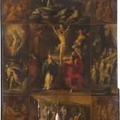 FRANS FRANCKEN DER JÜNGERE (1581 Antwerpen - 1642 Ebenda), PASSIONSWEG CHRISTI, Öl auf Holztafel. 73 cm x 59,5 cm. Limit: 2.800,- €