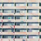 DRISS OUADAHI (*1959 Casablanca), ABSTRAKT-GEOMETRISCHE KOMPOSITION