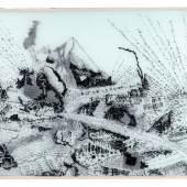 """401  Carlfriedrich Claus """"Allegorischer Essay für Albert Wigand: Naturalisierung des Menschen, Humanisierung der Natur, ein kommunistisches Zukunftsproblem"""". 1979.  1200 €"""