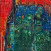 Friedensreich Hundertwasser * Schätzpreis € 80.000 - 160.000 (Wien 1928 -2000 vor Brisbane, Australien) Die Grüne Steiermark, 1958