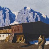 Alfons Walde * Schätzpreis € 150.000 - 300.000 (Oberndorf 1891 - 1958 Kitzbühel) Berghof, 1928/1930