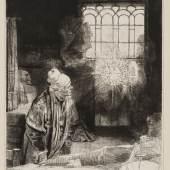 Rembrandt van Rijn, Faust, um 1652 Kupferstich-Kabinett  © SKD