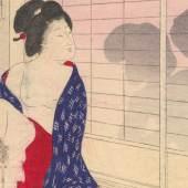 "shunga ""Oh, ich bin neidisch!"", Japan um 1890"