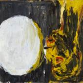 Georg Baselitz, Blick aus dem Fenster [View out of the Window], 1982 Oil on canvas. 130 x 162 cm (51,18 x 63,78 in) (GB 2231) Private collection