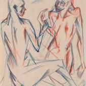 Cubist Drawings by Otto Gutfreund