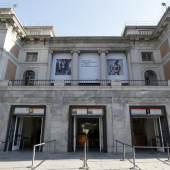 Museo Nacional del Prado von vorne gesehen