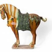 Großes Tang-Pferd. - Auktionshaus Michael Zeller Ausrufpreis:2200 Euro