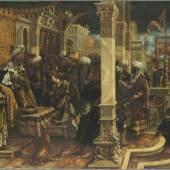Das Alte Testament - Geschichten und Gestalten  Hans Burgkmair d. Ä. (1473 - 1531) Die Geschichte der Esther, 1528  © Bayerische Staatsgemäldesammlungen, Alte Pinakothek, München