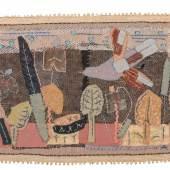 22  Elisabeth Ahnert, Vogelflug über Gartenbeeten. 1960er Jahre.  2600 €