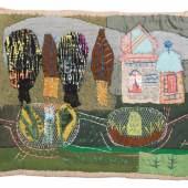 Elisabeth Ahnert, Parklandschaft mit Kirchlein. Um 1960. Schätzpreis: 1800 €