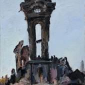 """Siegfried Klotz """"Dresden mahnt"""". 1989. Schätzpreis: 8500 €"""