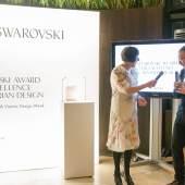 Der SWAROVSKI AWARD FOR EXCELLENCE IN AUSTRIAN DESIGN ging an Klemens Schillinger (c) VIENNA DESIGN WEEK / Kollektiv Fischka