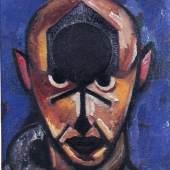 Alexander Rodtschenko (1891-1956): Selbstportrait, 1920, A. Rodtschenko und V. Stepanova Archive, Moskau, © VG Bild-Kunst, Bonn 2013