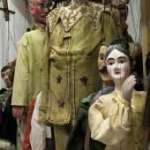 Ein Blick in Marionetten-Depot. Figuren verschiedener sächsischer Bühnen aus dem 19. Jahrhundert (c) Foto Frank Höhler