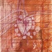 Lot Nr: 66 - Herz Hermann Nitsch, (*1938) Schätzpreis: 1200 - 1500,- Euro Rufpreis: 50,- Euro Farbradierung (Unikatdruck); 66 x 50 cm;