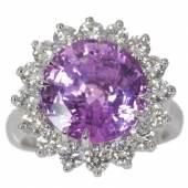 Purple-Saphir-Brillant-Ring Zuschlag: 15.000 Euro