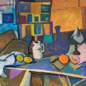 Herbert Boeckl Stillleben I, 1957 Öl auf Leinwand; 81,5 × 100 cm EUR 70.000-140.000