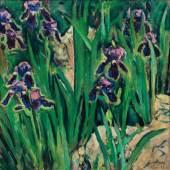 Koloman Moser Schwertlilien, 1911/14 Öl auf Leinwand; 75 × 75 cm EUR 250.000-500.000