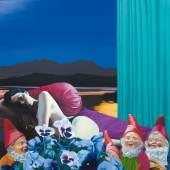 'Mondlicht', 2014 'Moon Light', 2014  Künstler:     Klingshirn, Richard Schätzpreis:     6000 - 7000 € Los:     121C 92