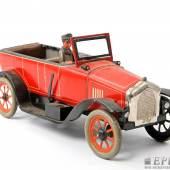 BING Cabriolet, um 1920  4-Sitzer mit Chauffeur. L. ca. 32 cm, ...  Aufrufnummer: 39 Aufrufpreis: 1.160 Euro
