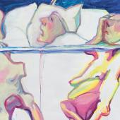 Maria Lassnig, Krankenhaus, 2005  Privatsammlung, Courtesy Hauser & Wirth
