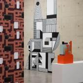Ausstellungsansicht: Nathalie Du Pasquier. BIG OBJECTS NOT ALWAYS SILENT, Kunsthalle Wien 2016, Foto: Stephan Wyckoff