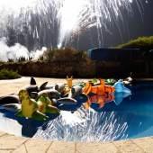 Jean Pigozzi Fireworks, 2013 Villa Dorane, Antibes © Jean Pigozzi courtesy IMMAGIS Galerie