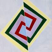 6 HJOOS Verschiebung 1970 Gouache Papier 71,5x62,5cm