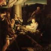 Correggio, Die Heilige Nacht, 1522/ 30, Gemäldegalerie Alte Meister