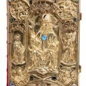 Lot 1192 Krönungsevangeliar des Heiligen Römischen Reiches Premiumpreis 15.000 € (inkl. Aufgeld & MwSt.)