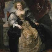 """Peter Paul Rubens (1577 - 1640), Helene Fourment """"im Brautkleid"""", um 1630/31, Eichenholz, 163,5 x 136,9 cm © Bayerische Staatsgemäldesammlungen, Alte Pinakothek, München"""