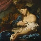 Johann Liss (1595/1600 - 1631), Tod der Kleopatra, um 1624/25, Leinwand, 97,5 x 85,5 cm © Bayerische Staatsgemäldesammlungen, Alte Pinakothek, München