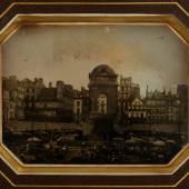 Jean Baptiste Louis Gros (1793–1870) zugeschrieben 'La Fontaine et le marché des Innocents', © WestLicht Photographica Auction