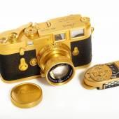Leica M3 gold , © WestLicht Photographica Auction