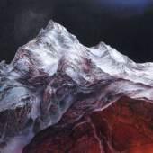 """094   Heinz Zander """"Nächtlicher Berg"""". 2002. 4900 €"""