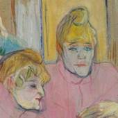 Henri de Toulouse-Lautrec, Die Damen im Speisesaal, 1893 © Szépművészeti Múzeum, Budapest