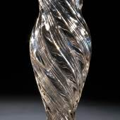 Bedeutende Vase, St. Petersburg, Kaiserliche Glasfabrik, Periode Nikolaus II., datiert 1896, Taxe 700-800 € (7319-11)
