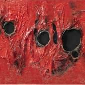 Alberto Burri ROSSO PLASTICA 5 Estimate   4,000,000 — 6,000,000  GBP
