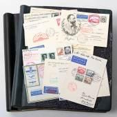 Dt. Reich ZEPPELIN - Sammlung von über 230 Belegen