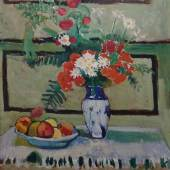 Henri Matisse, Květiny a ovoce, 1909 Henri Matisse, Flowers and Fruits, 1909 © Ordupgaard, Copenhagen / Photo Anders Sune Berg