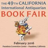 Plakat 49 th California International  Antiquarian  Book Fair (c) cabookfair.com