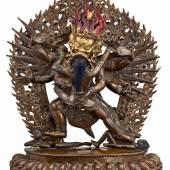Yuganaddha Hayagriva Tibet, Lhasa wohl 19. Jh. Zuschlag 12.600,- EUR*