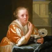 Godefridus Schalcken; Zuckerschleckendes Mädchen; Rose-Marie und Eijk van Otterloo Collection, USA