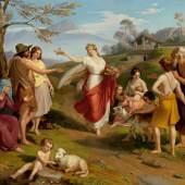 Alexander Bruckmann. 1806 Ellwangen - 1852 Stuttgart. Studierte bei Eberhard Wächter in Stuttgart, - Auktionshaus Michael Zeller Ausrufpreis:13500 Euro