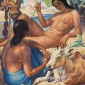 Norbertine Bresslern-Roth* Fernes Land, 1946 Schätzpreis: 150.000 – 300.000 €